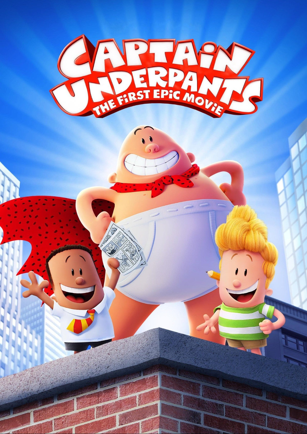 'Captain Underpants' movie poster