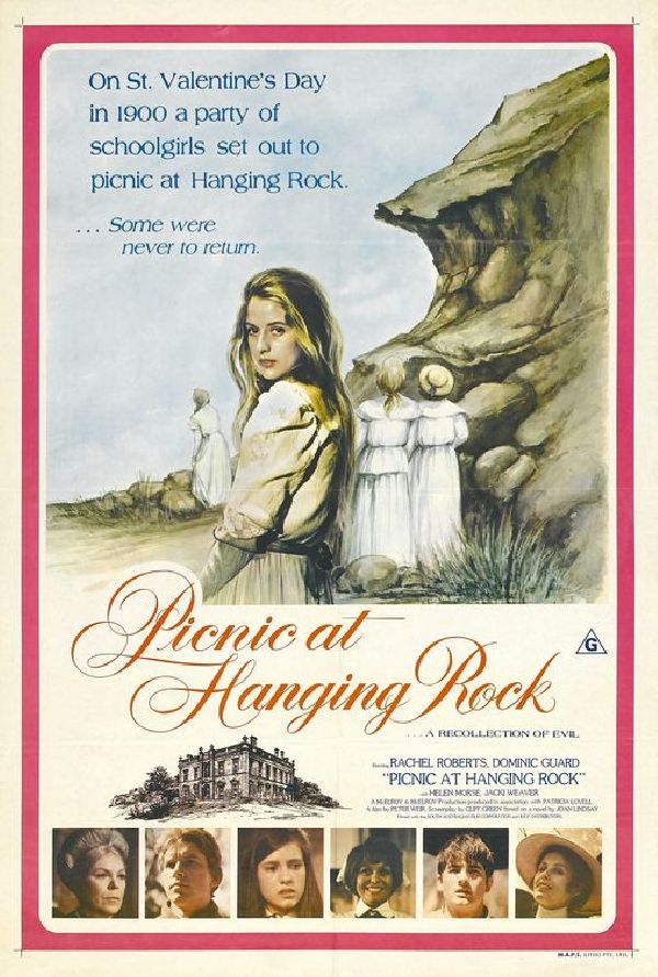 'Picnic At Hanging Rock' movie poster