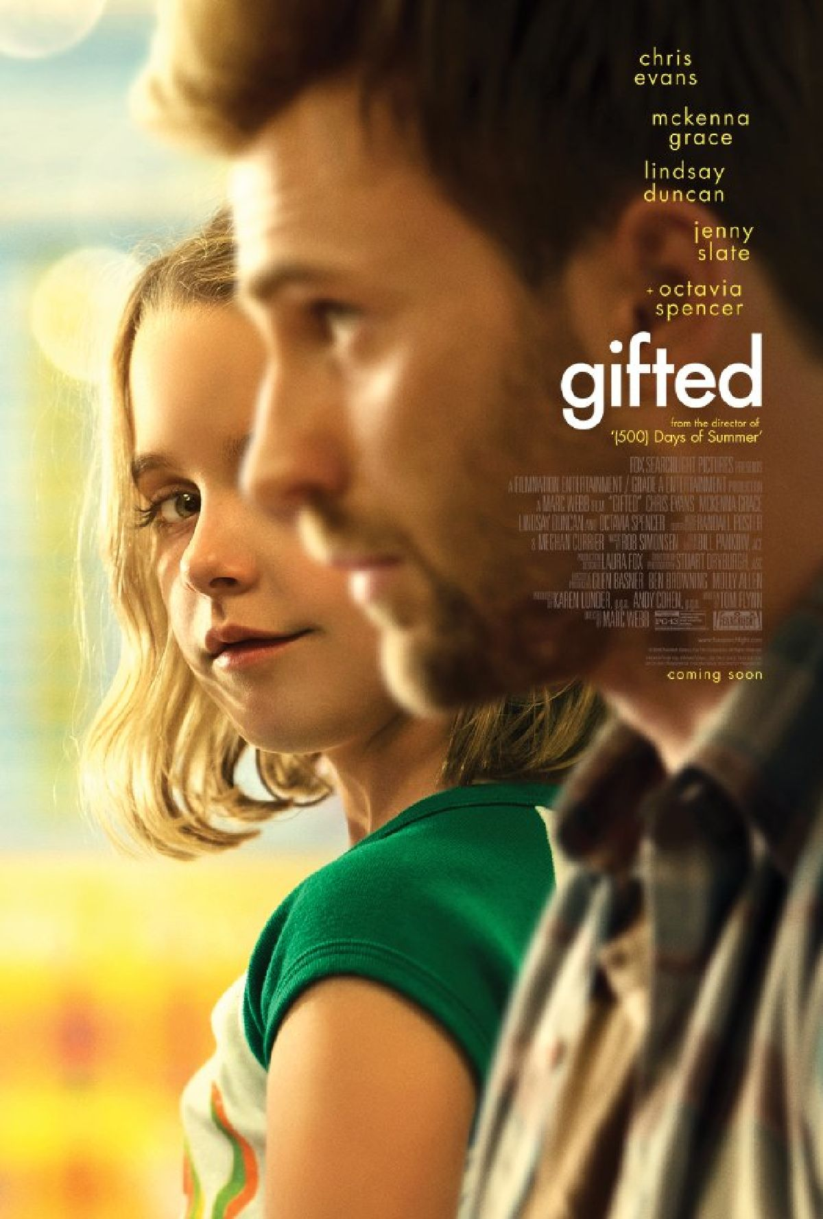 'Gifted' movie poster