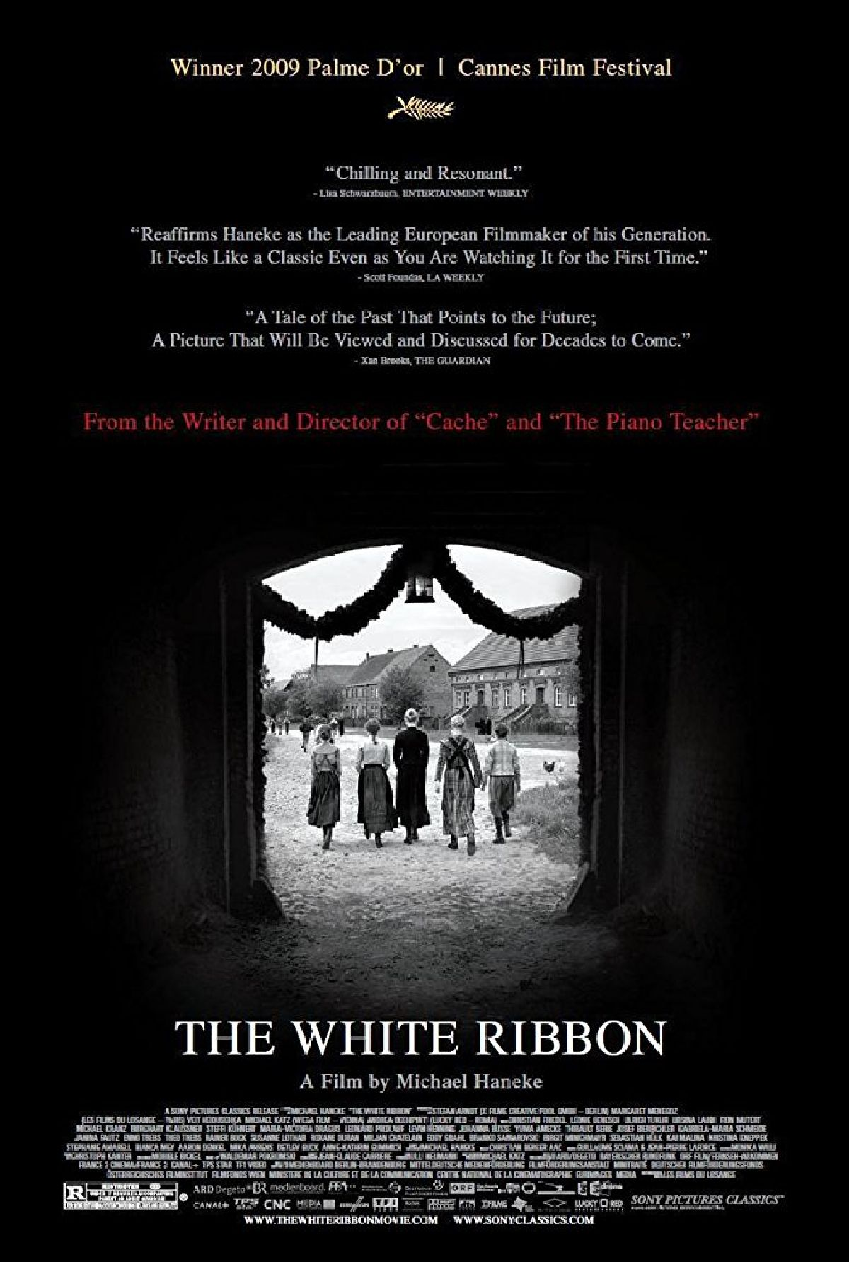 'The White Ribbon (Das Weisse Band)' movie poster