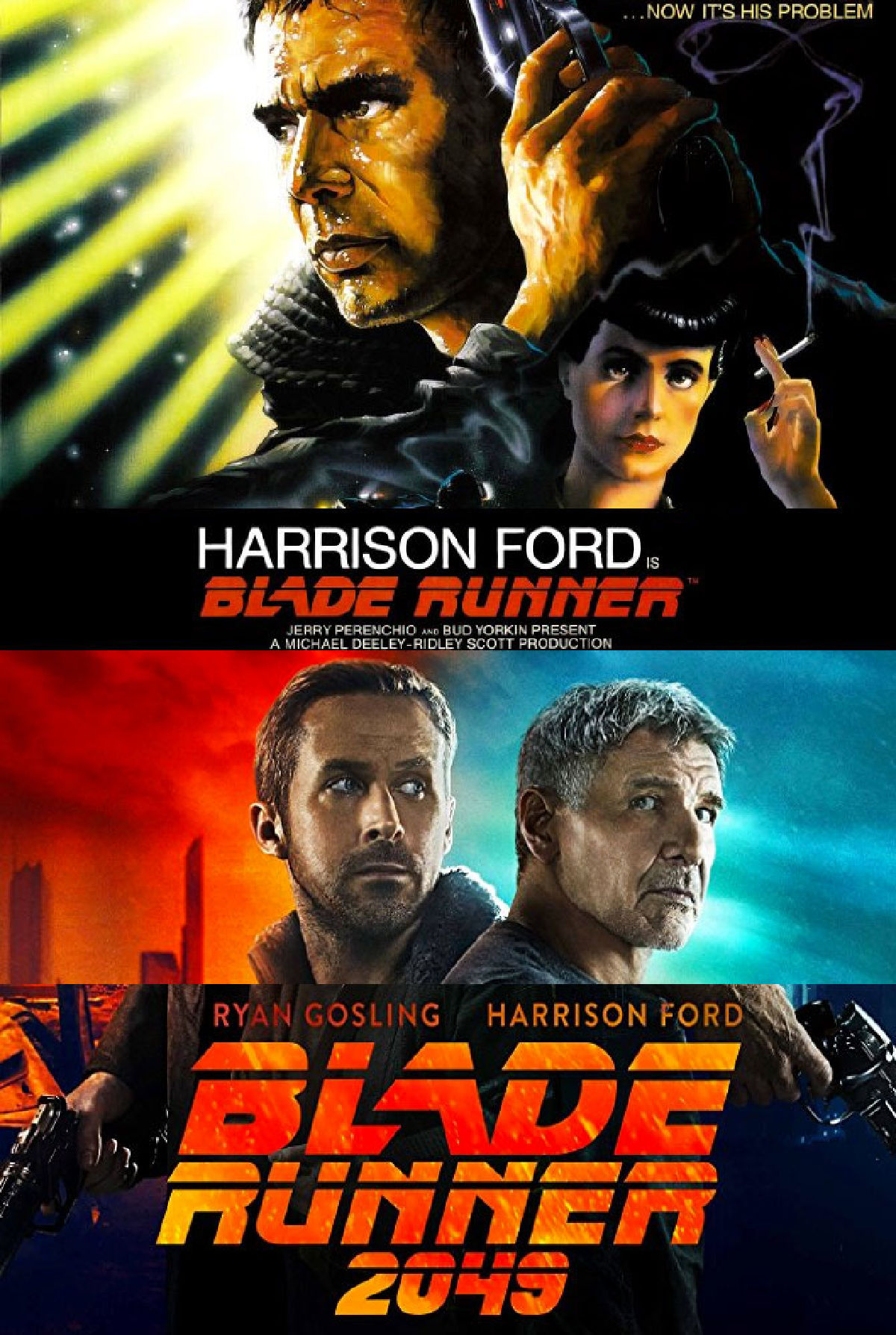 'Blade Runner Double Feature' movie poster