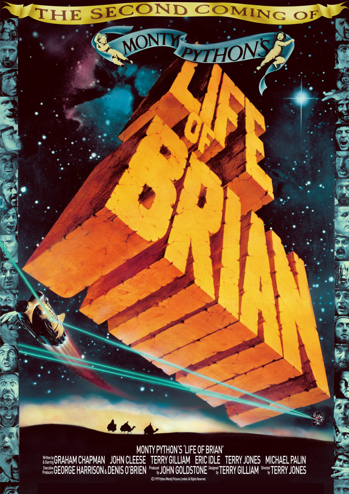 'Monty Python's Life Of Brian' movie poster