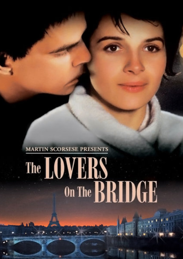 'The Lovers on the Bridge (Les Amants Du Pont Neuf)' movie poster