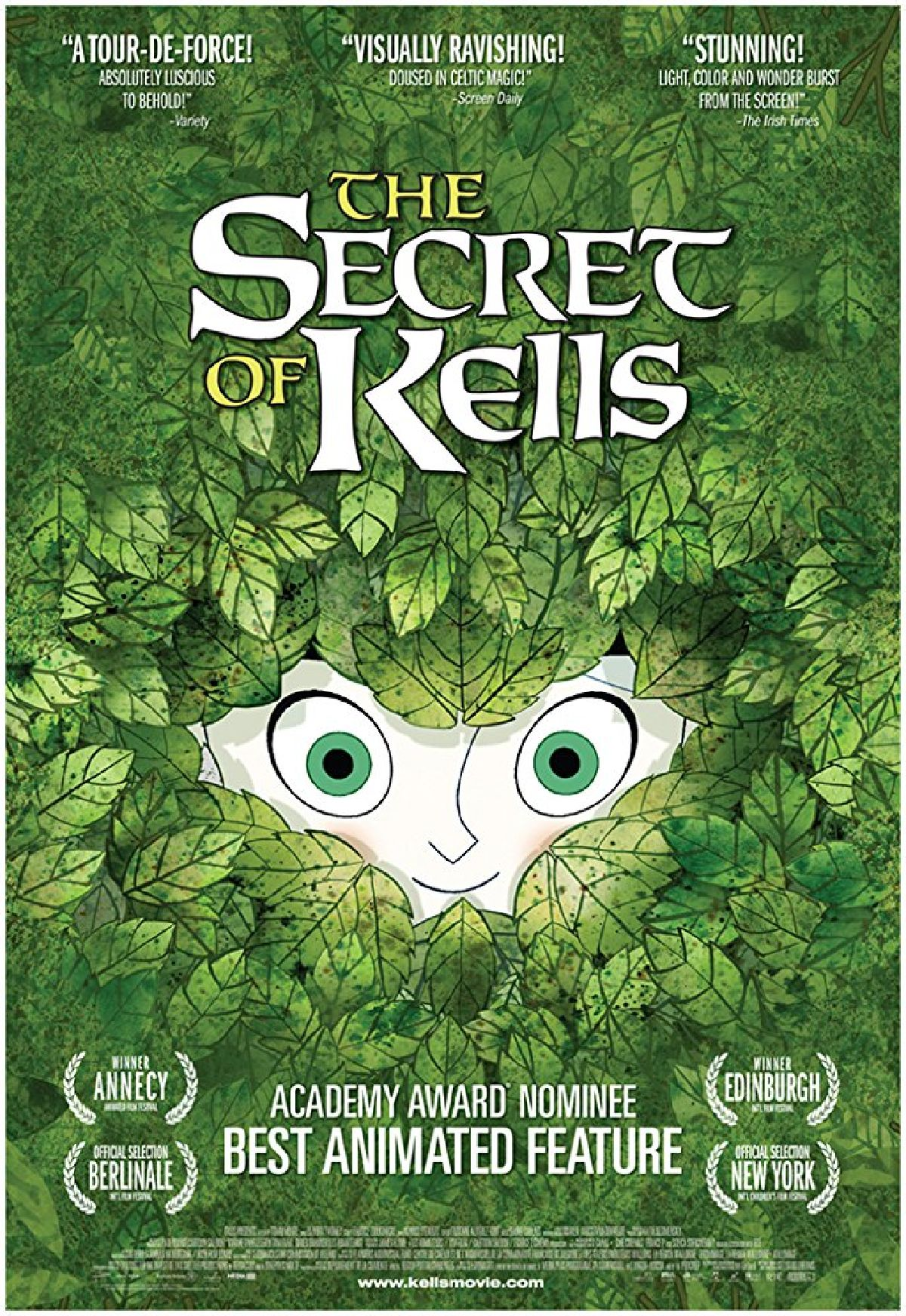 'The Secret Of Kells' movie poster