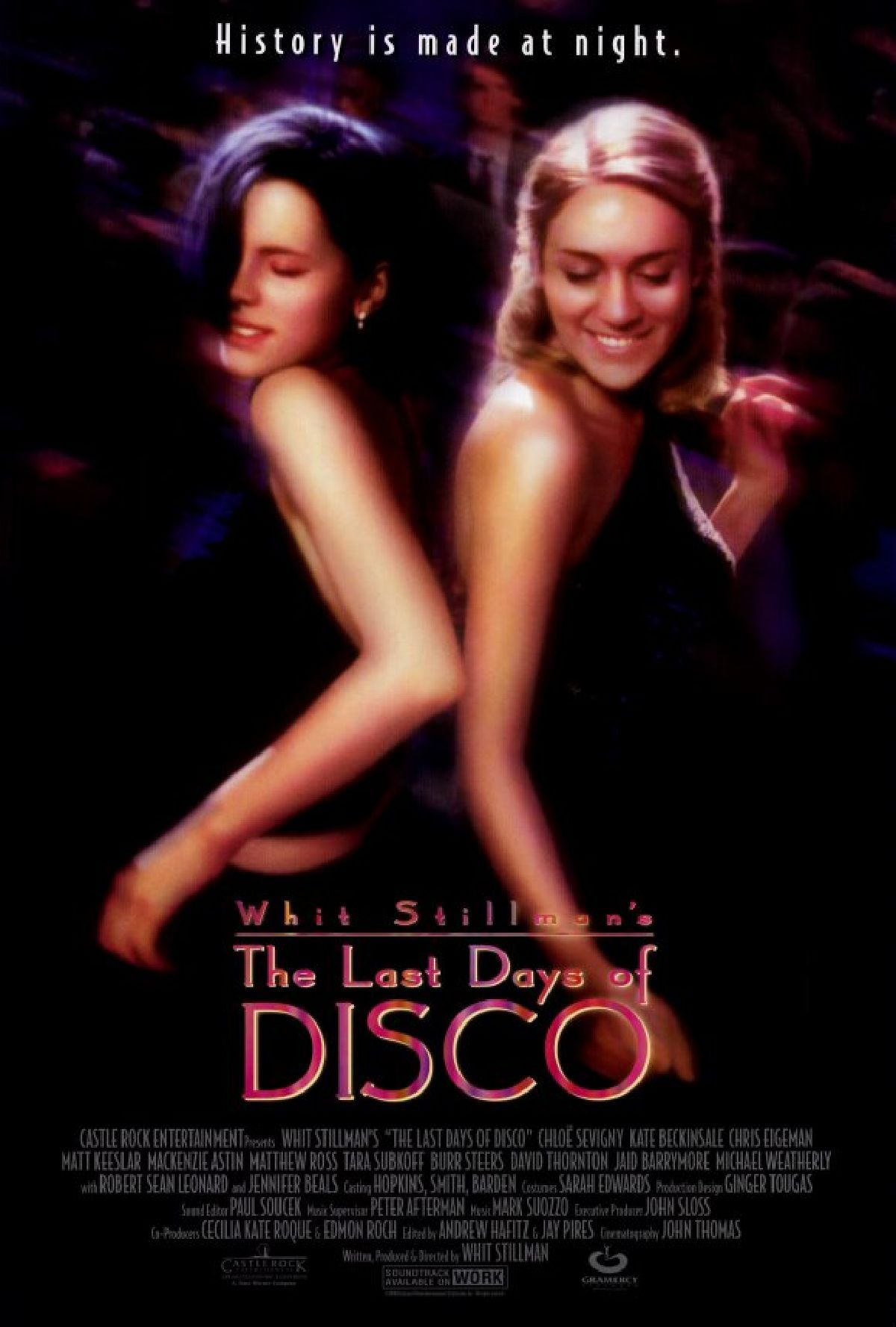 'The Last Days Of Disco' movie poster