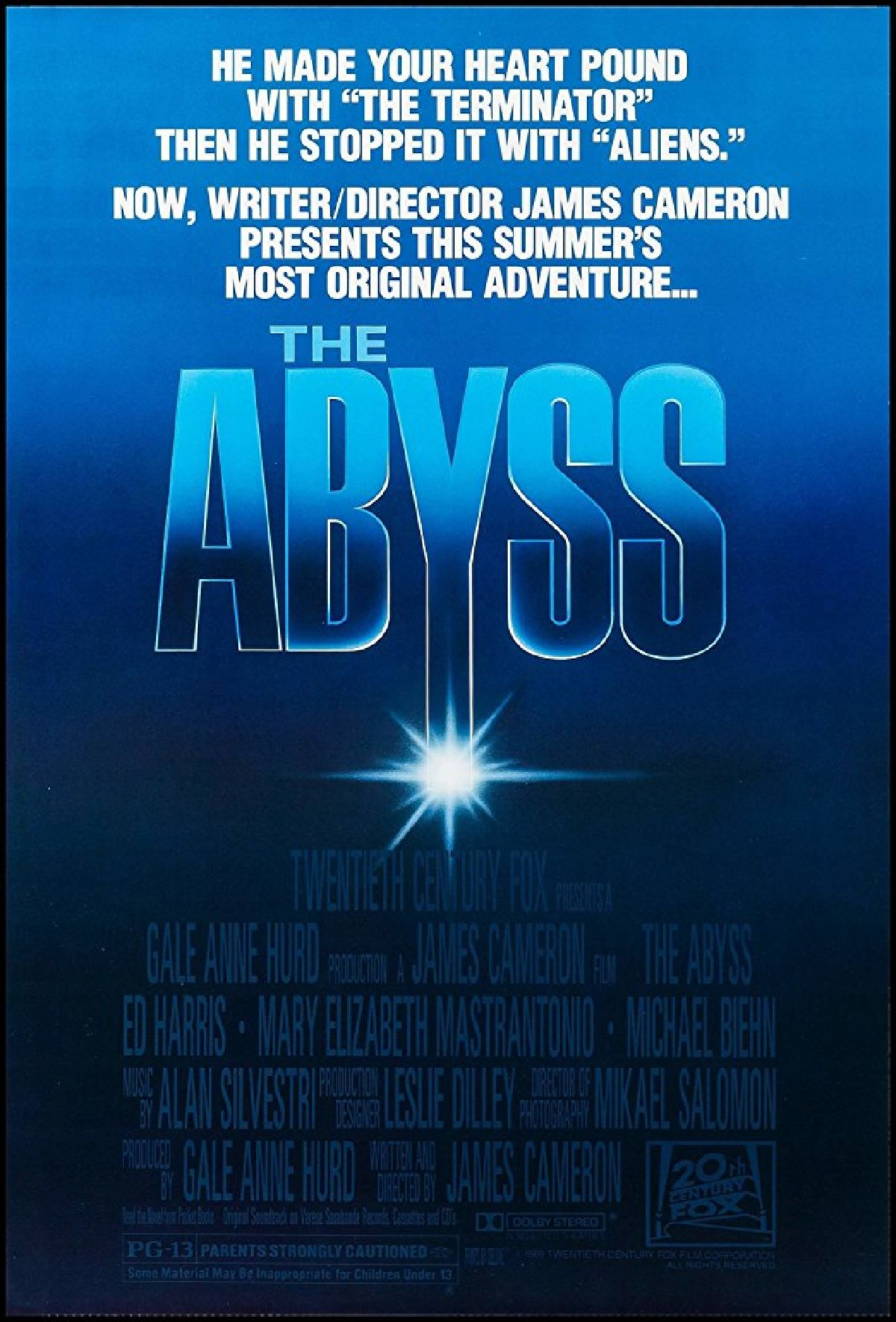 'The Abyss' movie poster