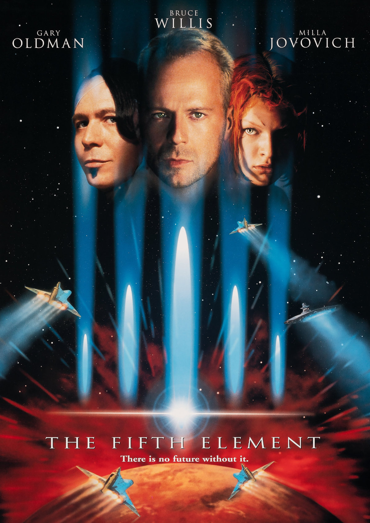 'The Fifth Element' movie poster