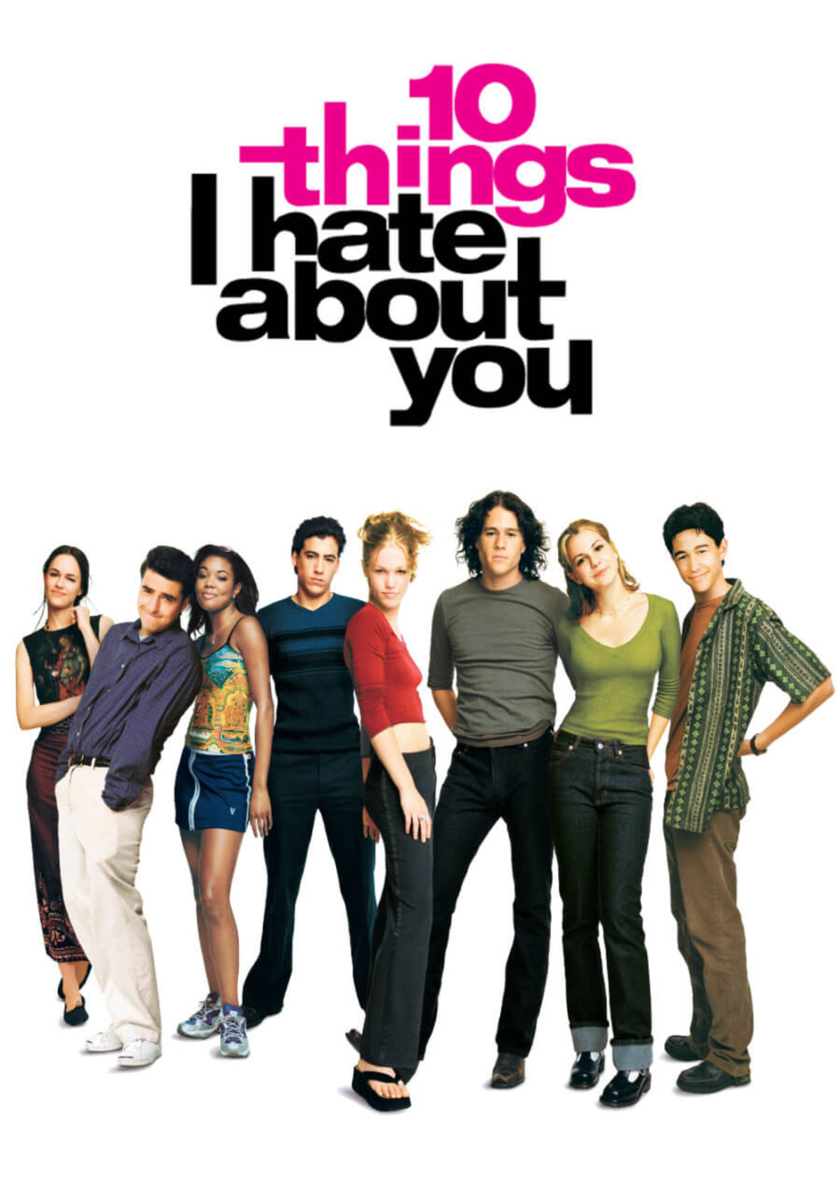 '10 Things I Hate About You' movie poster