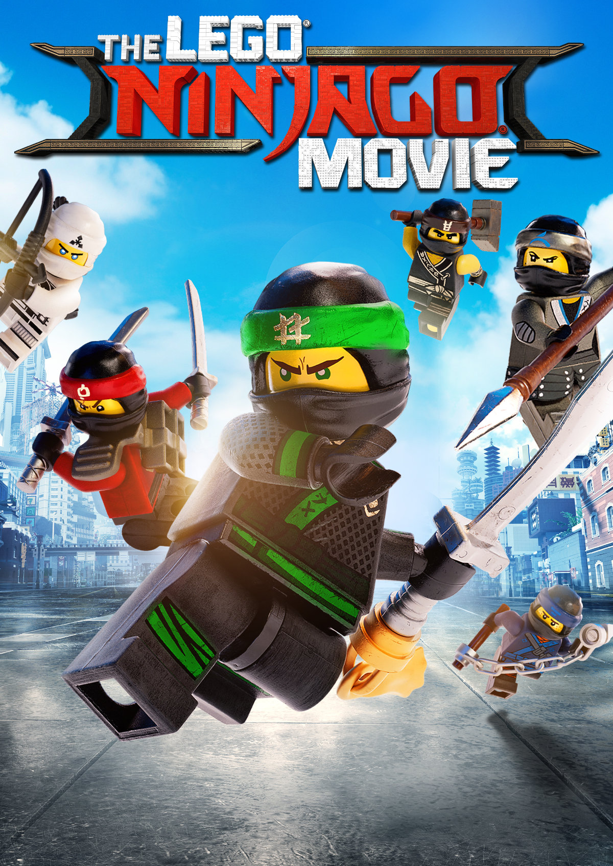 'The LEGO Ninjago Movie' movie poster