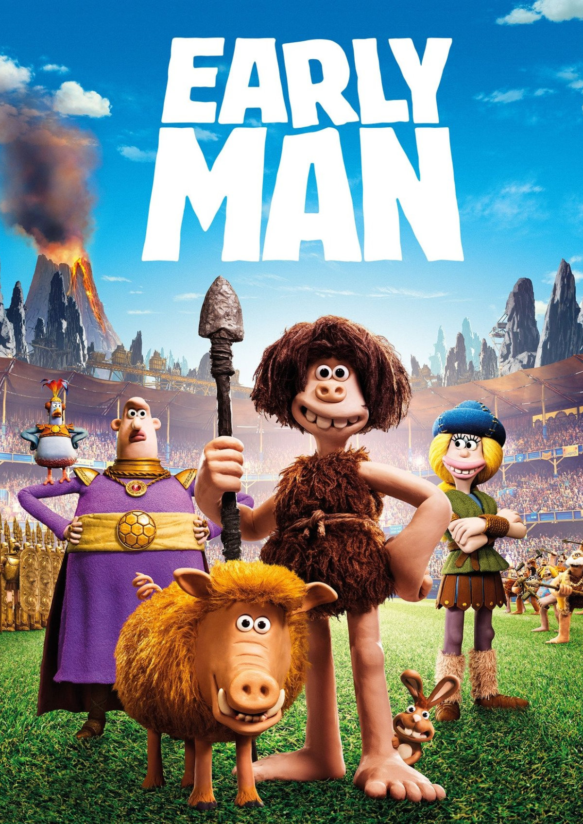 'Early Man' movie poster