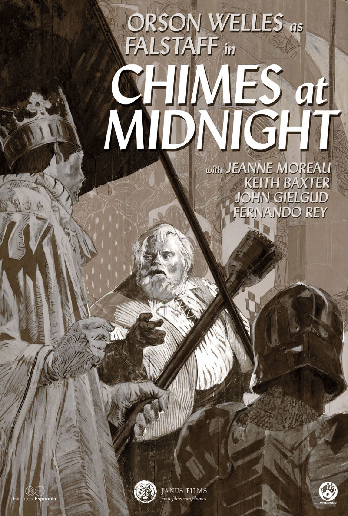 'Chimes At Midnight' movie poster