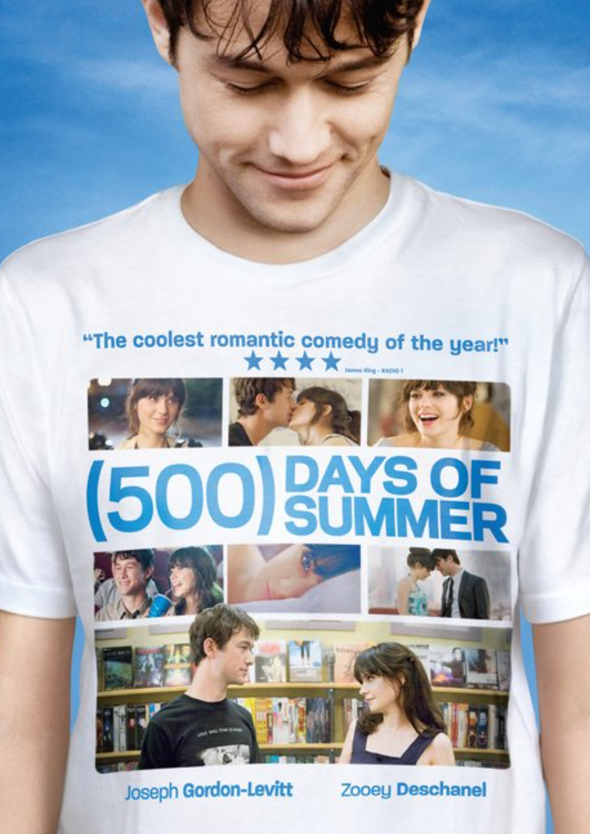 '(500) Days Of Summer' movie poster
