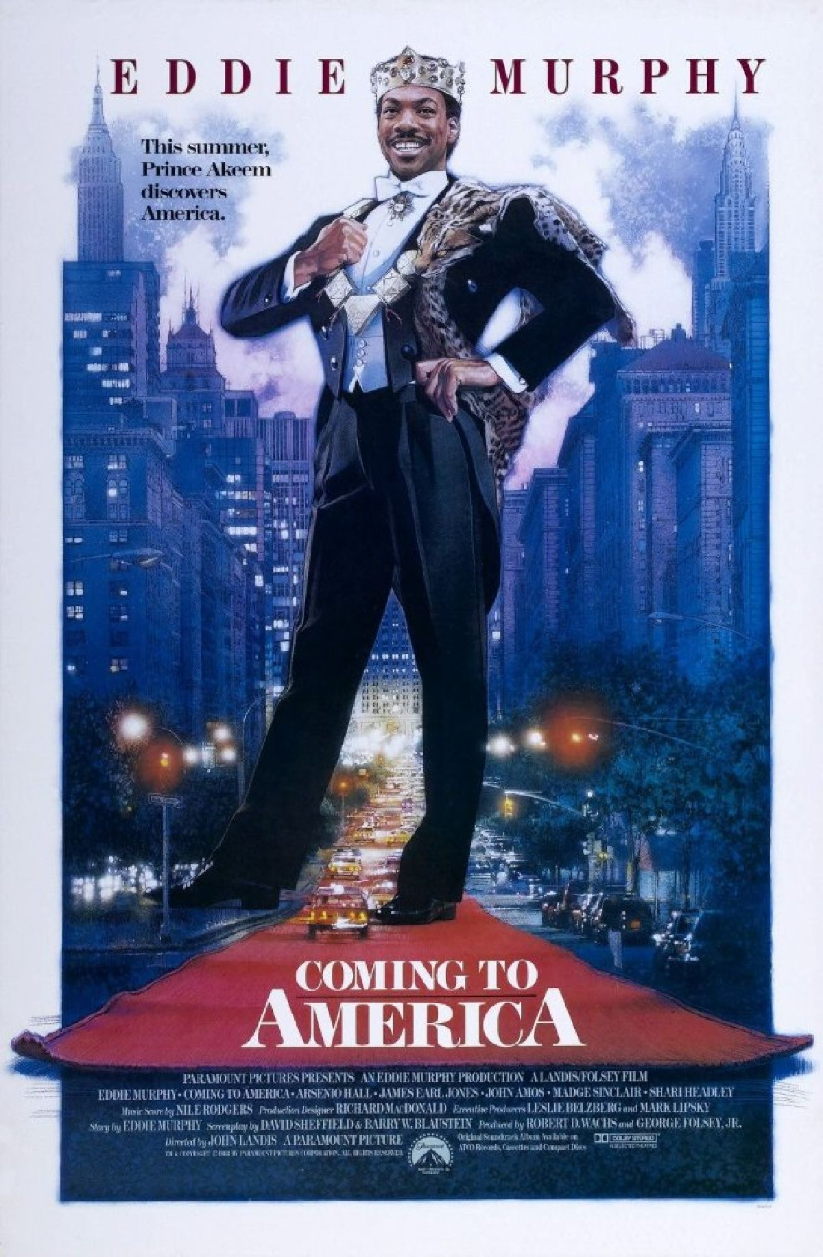 'Coming To America' movie poster