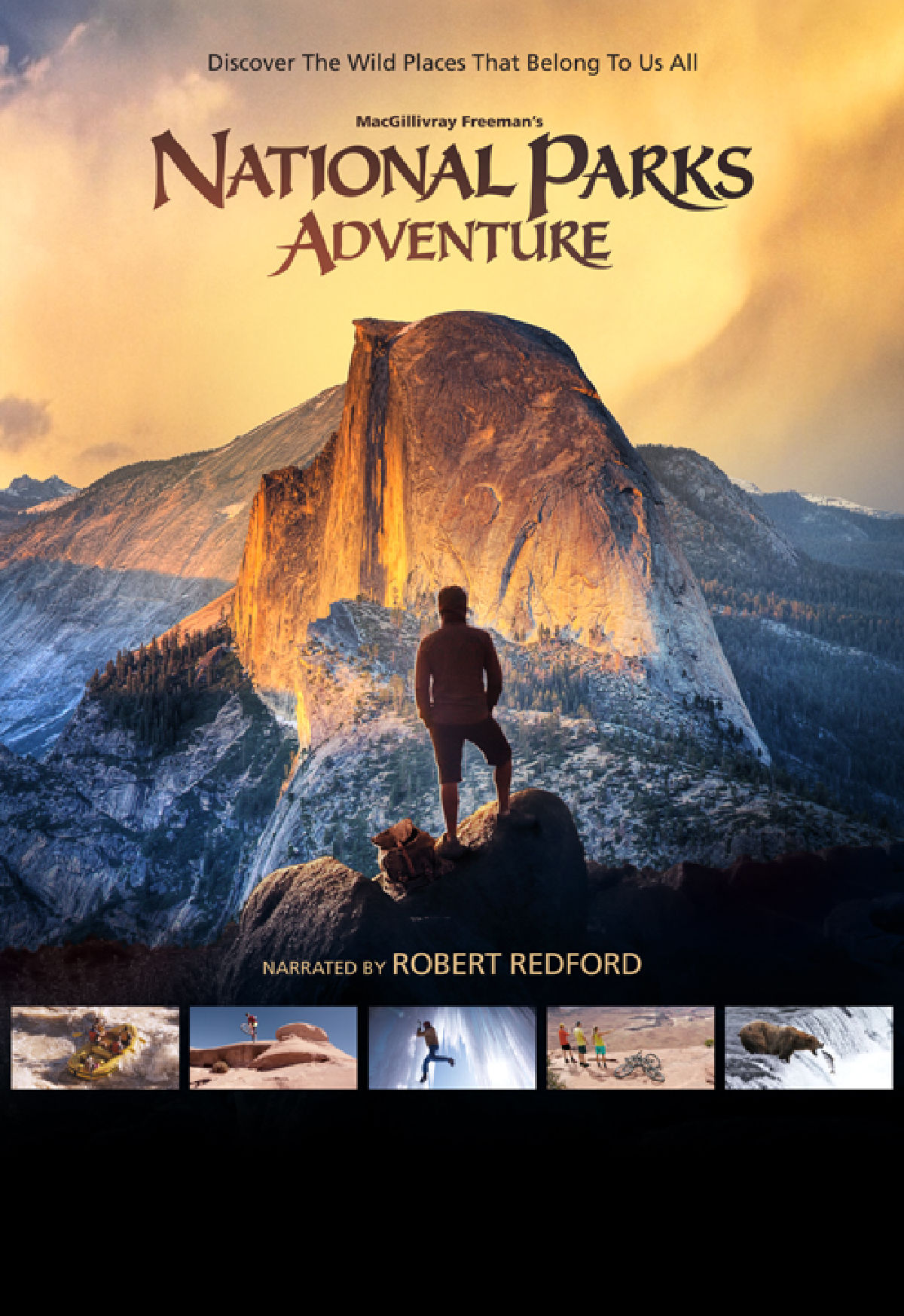 'America Wild: National Parks Adventure 3D' movie poster