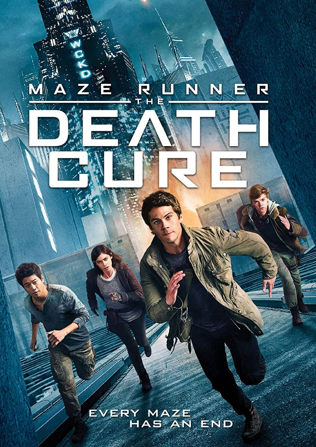 'Maze Runner: The Death Cure' movie poster