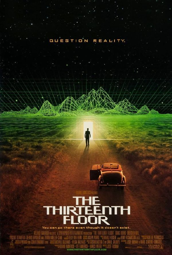 Poster for 'The Thirteenth Floor'