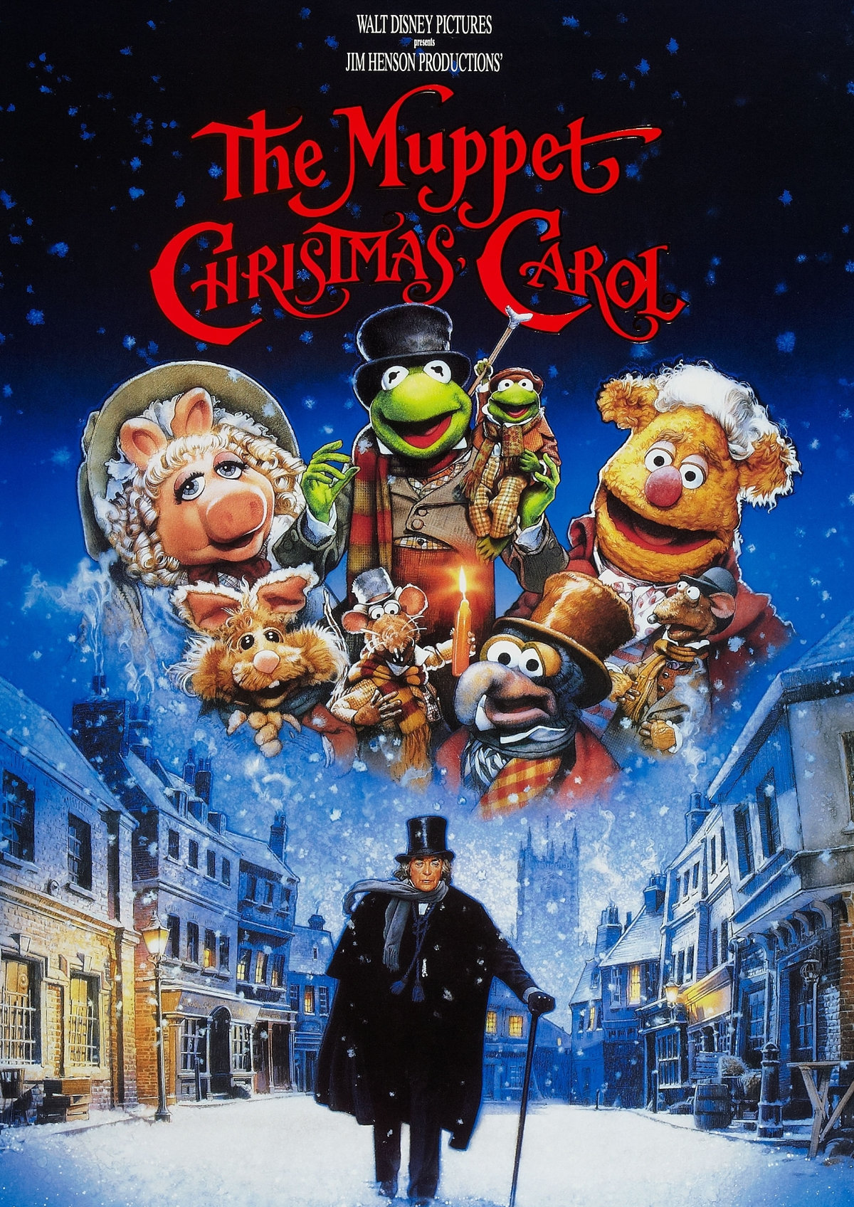 'The Muppet Christmas Carol' movie poster