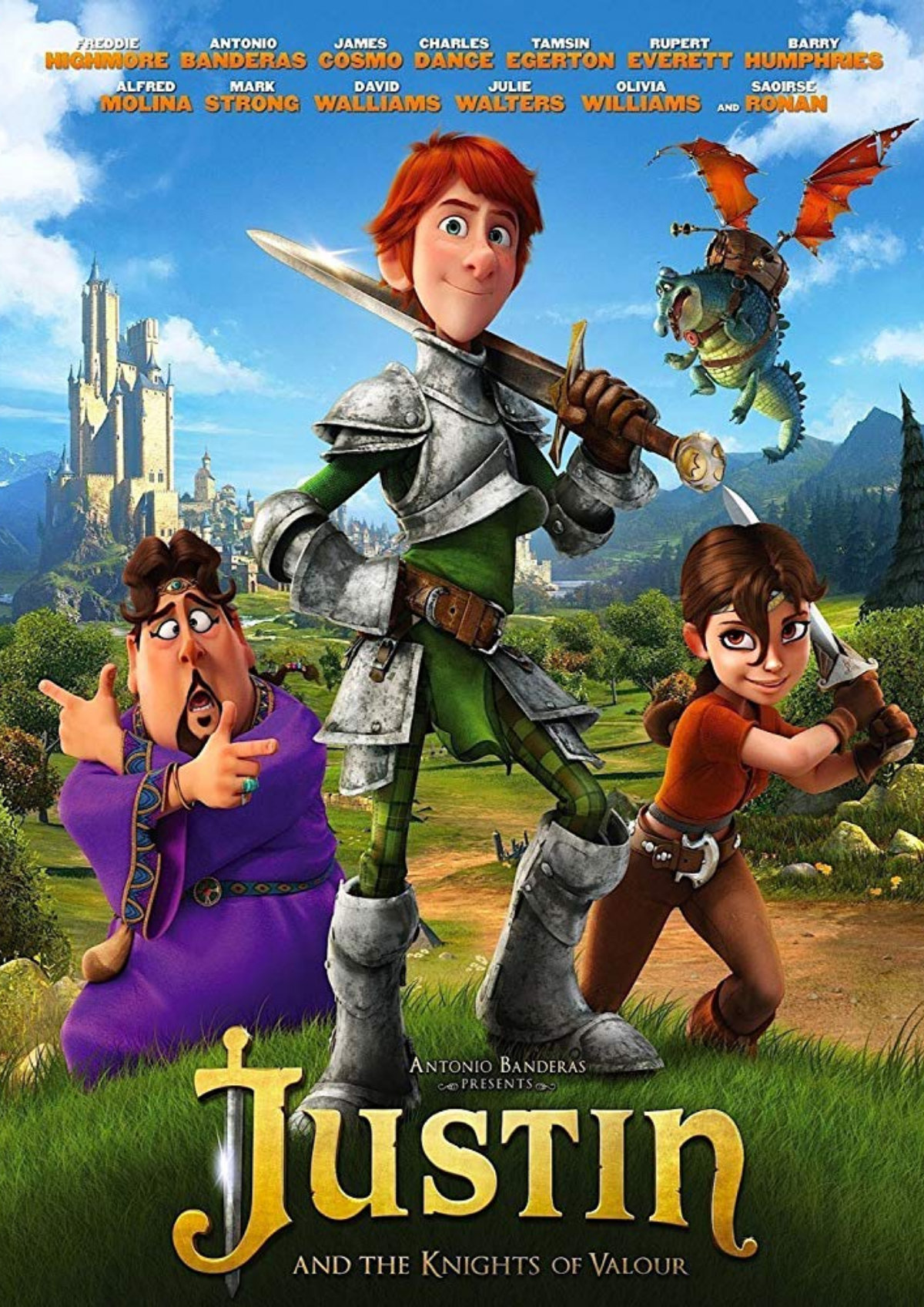 'Justin And The Knights Of Valour' movie poster