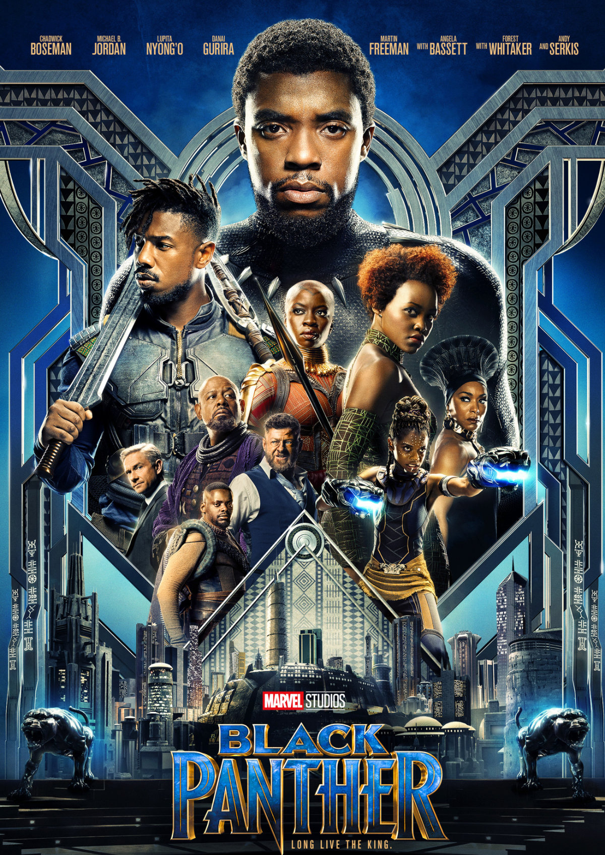 'Black Panther' movie poster