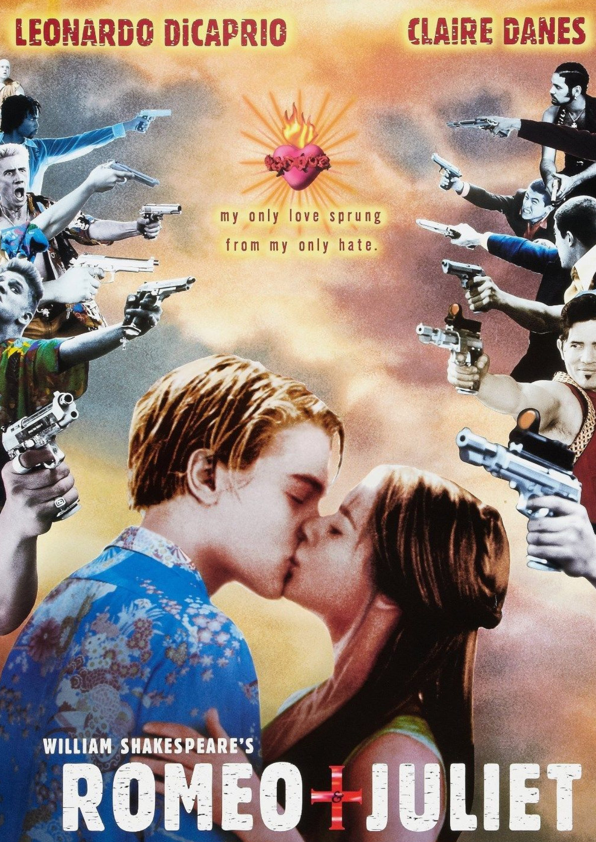 'William Shakespeare's Romeo + Juliet' movie poster