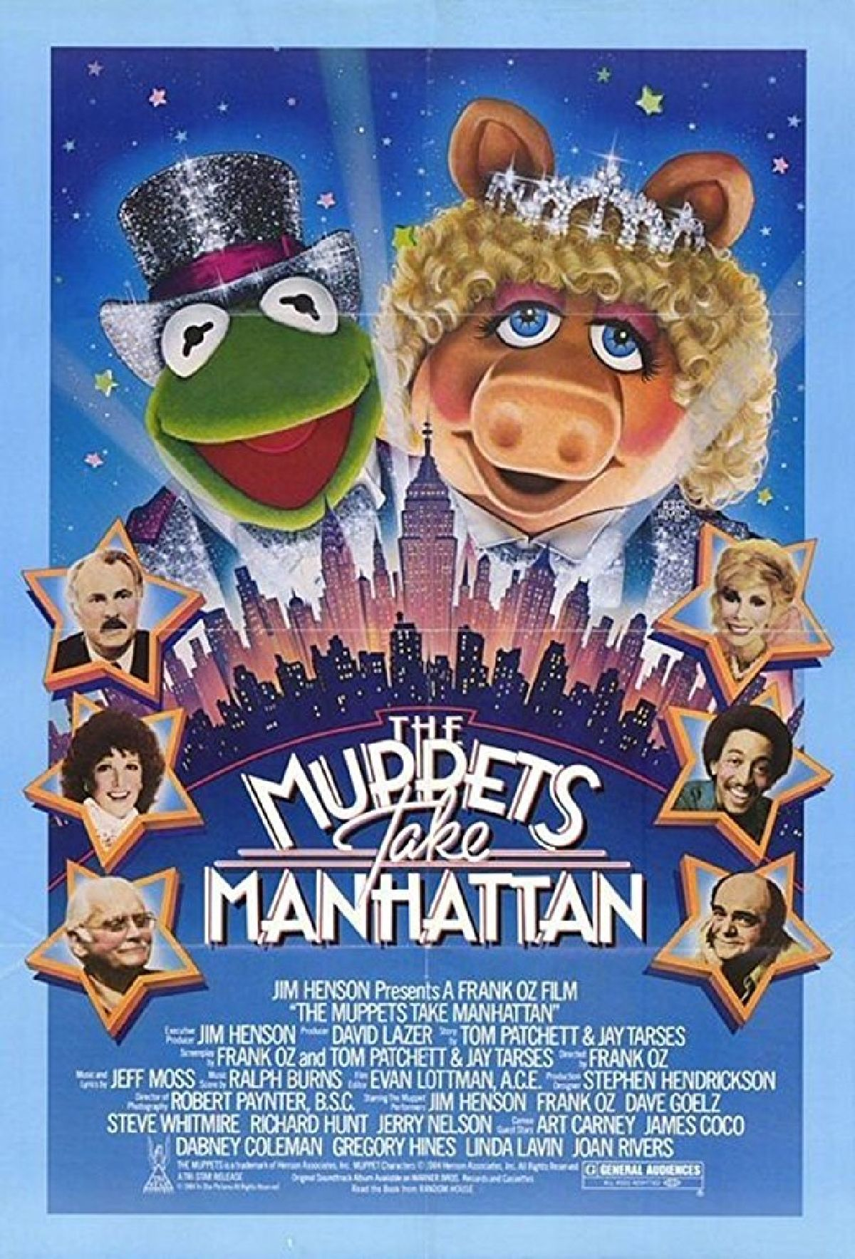 'The Muppets Take Manhattan' movie poster