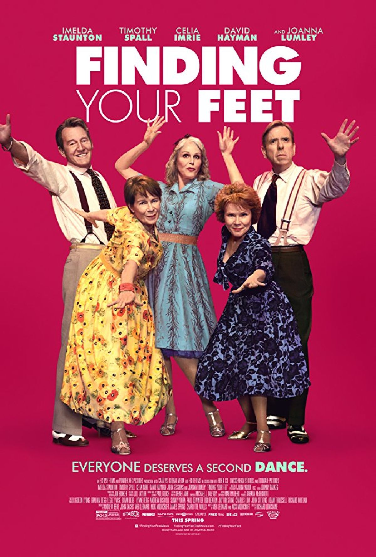 'Finding Your Feet' movie poster