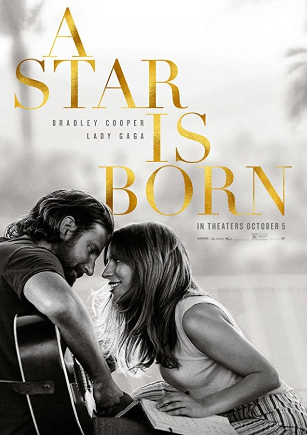 'A Star Is Born (2018)' movie poster