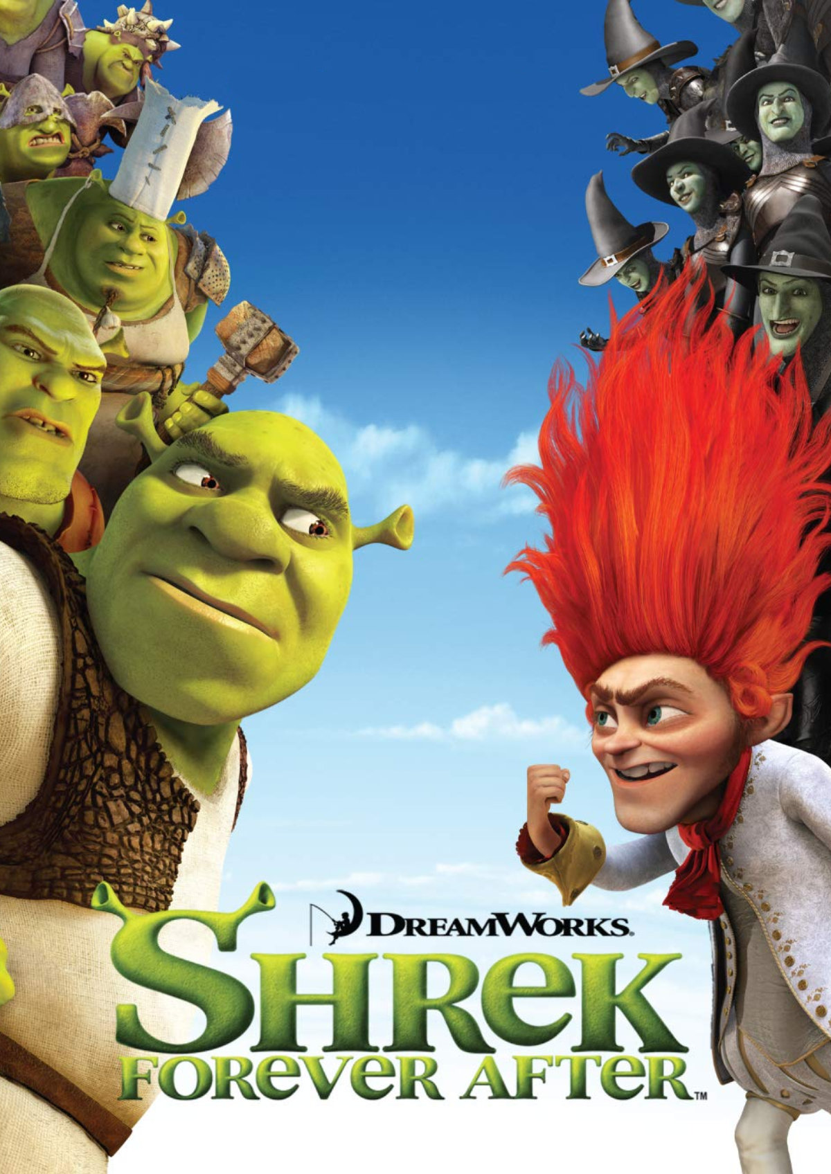 'Shrek Forever After' movie poster