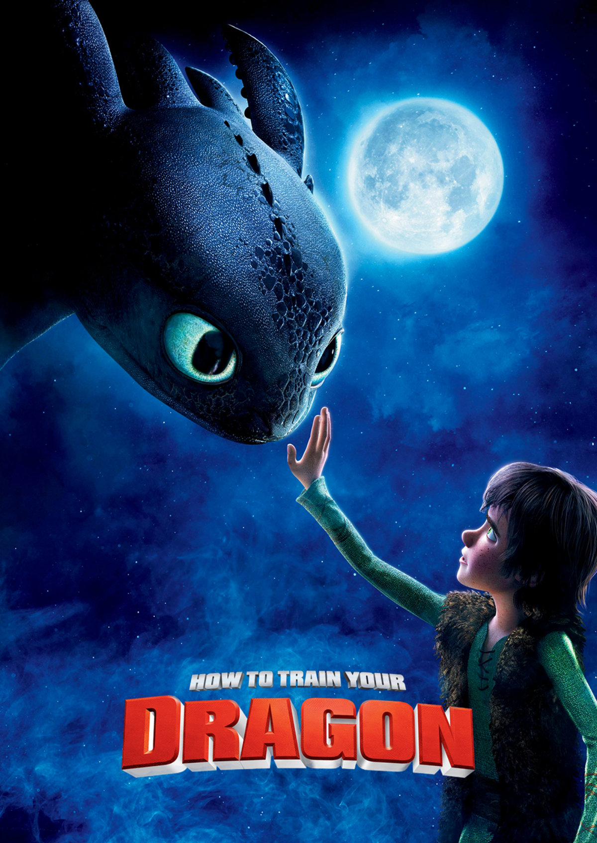 'How To Train Your Dragon' movie poster