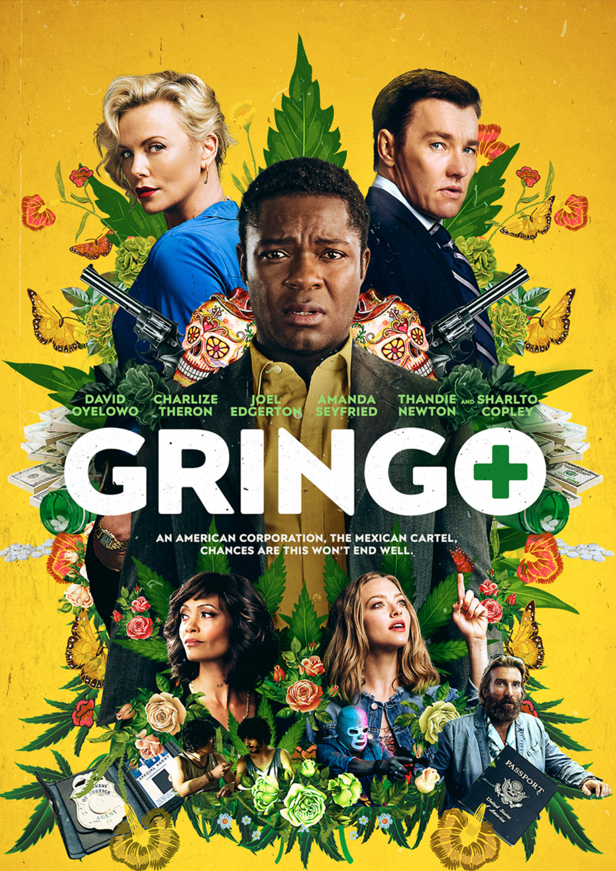 'Gringo' movie poster