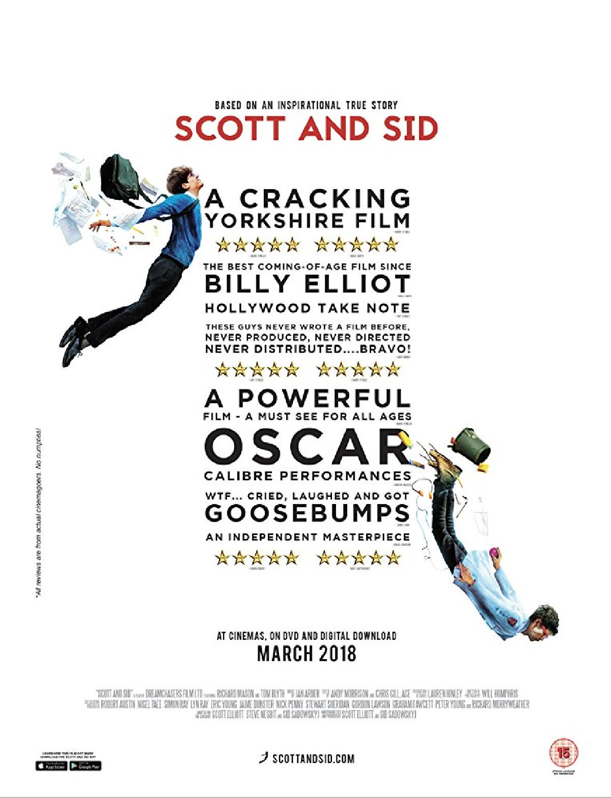 'Scott And Sid' movie poster
