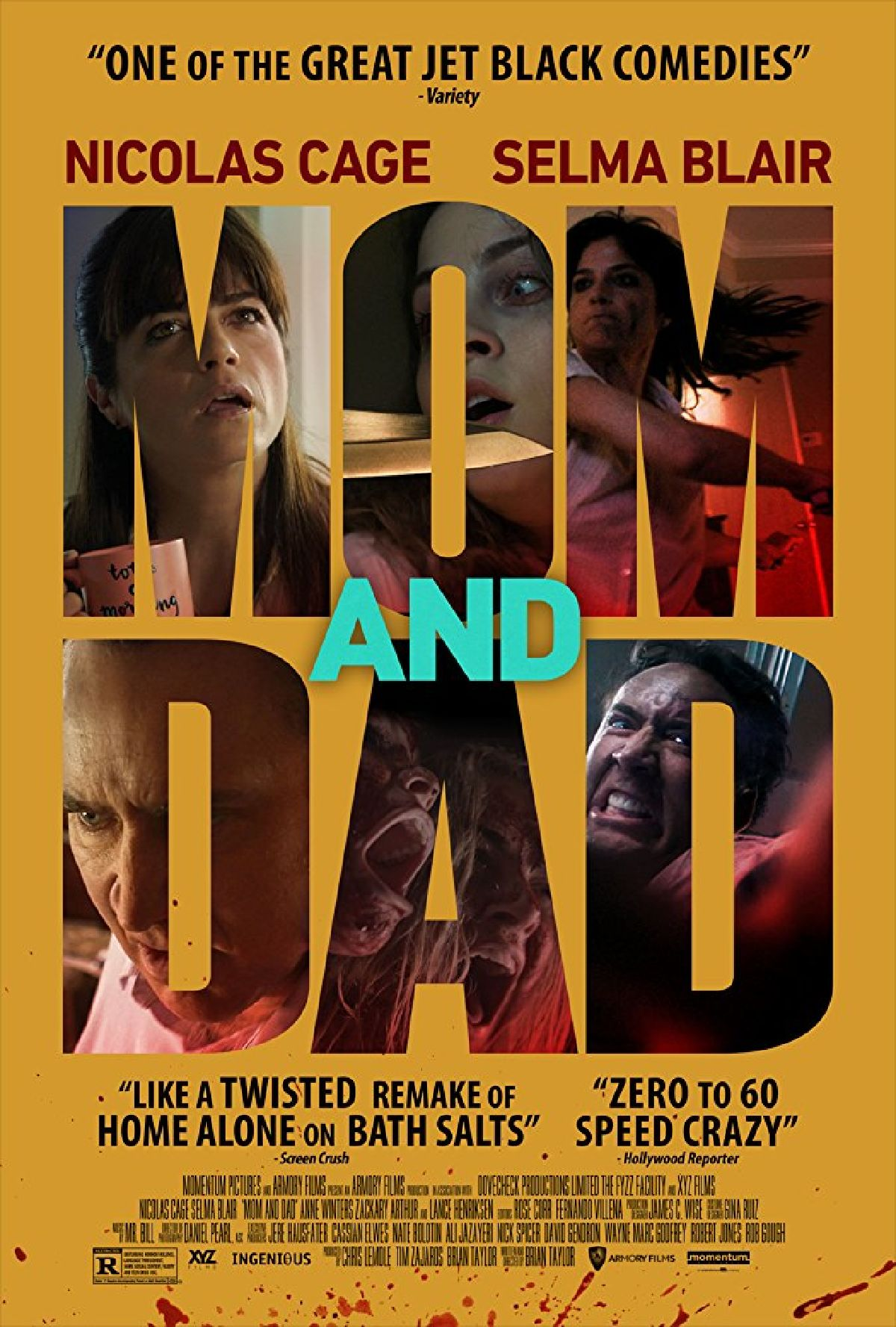 Poster for 'Mom And Dad'