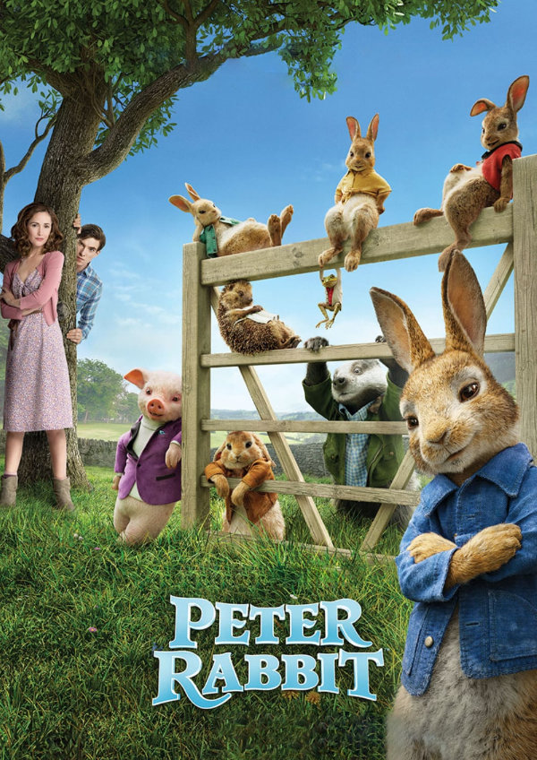 Poster for 'Peter Rabbit'