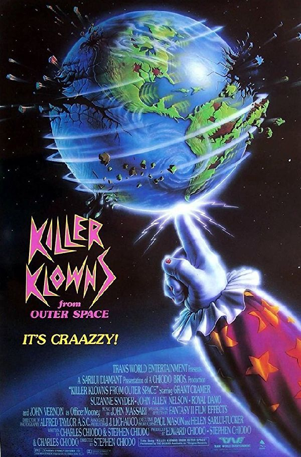 Poster for 'Killer Klowns From Outer Space'