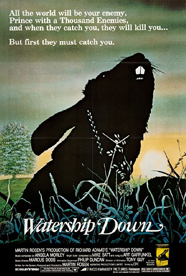 Poster for 'Watership Down'
