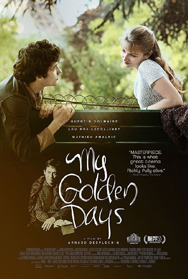 Poster for 'My Golden Days'