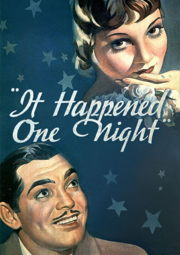 'It Happened One Night' movie poster