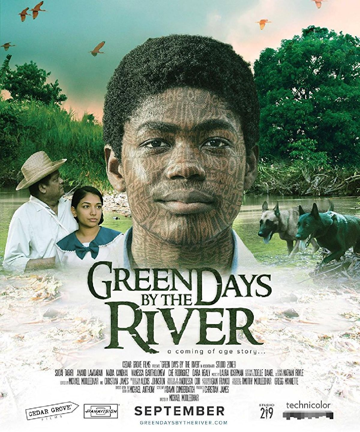 'Green Days By The River' movie poster