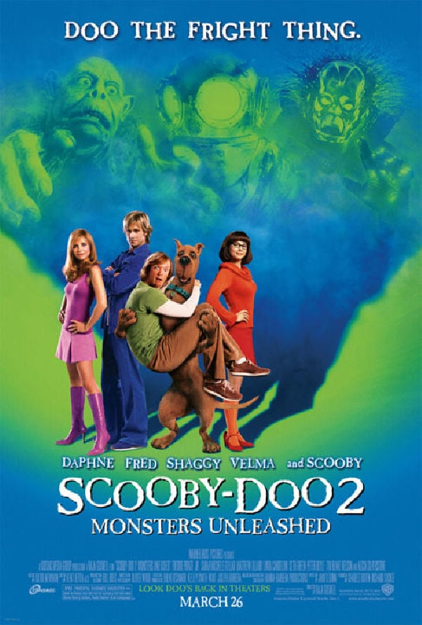'Scooby-Doo 2: Monsters Unleashed' movie poster