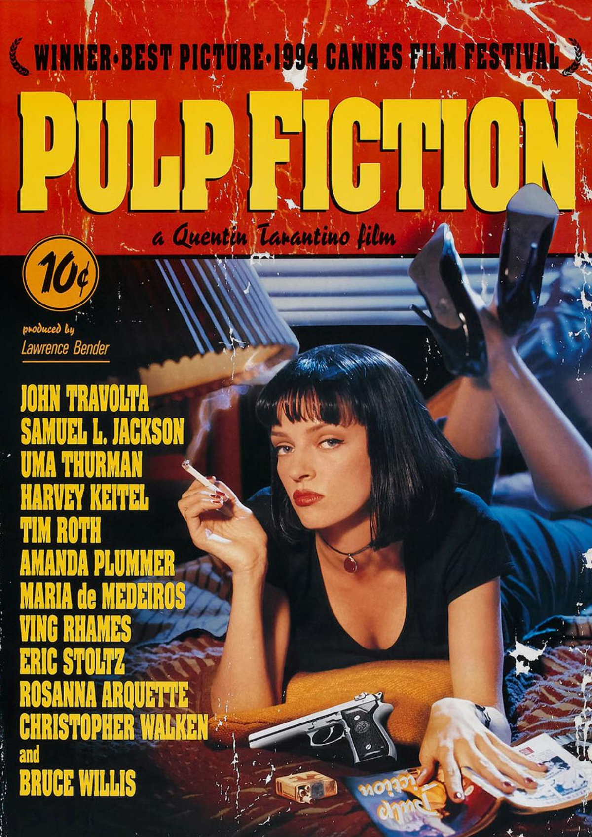 'Pulp Fiction' movie poster