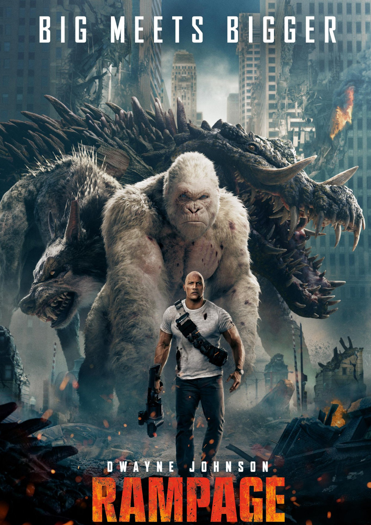 'Rampage' movie poster