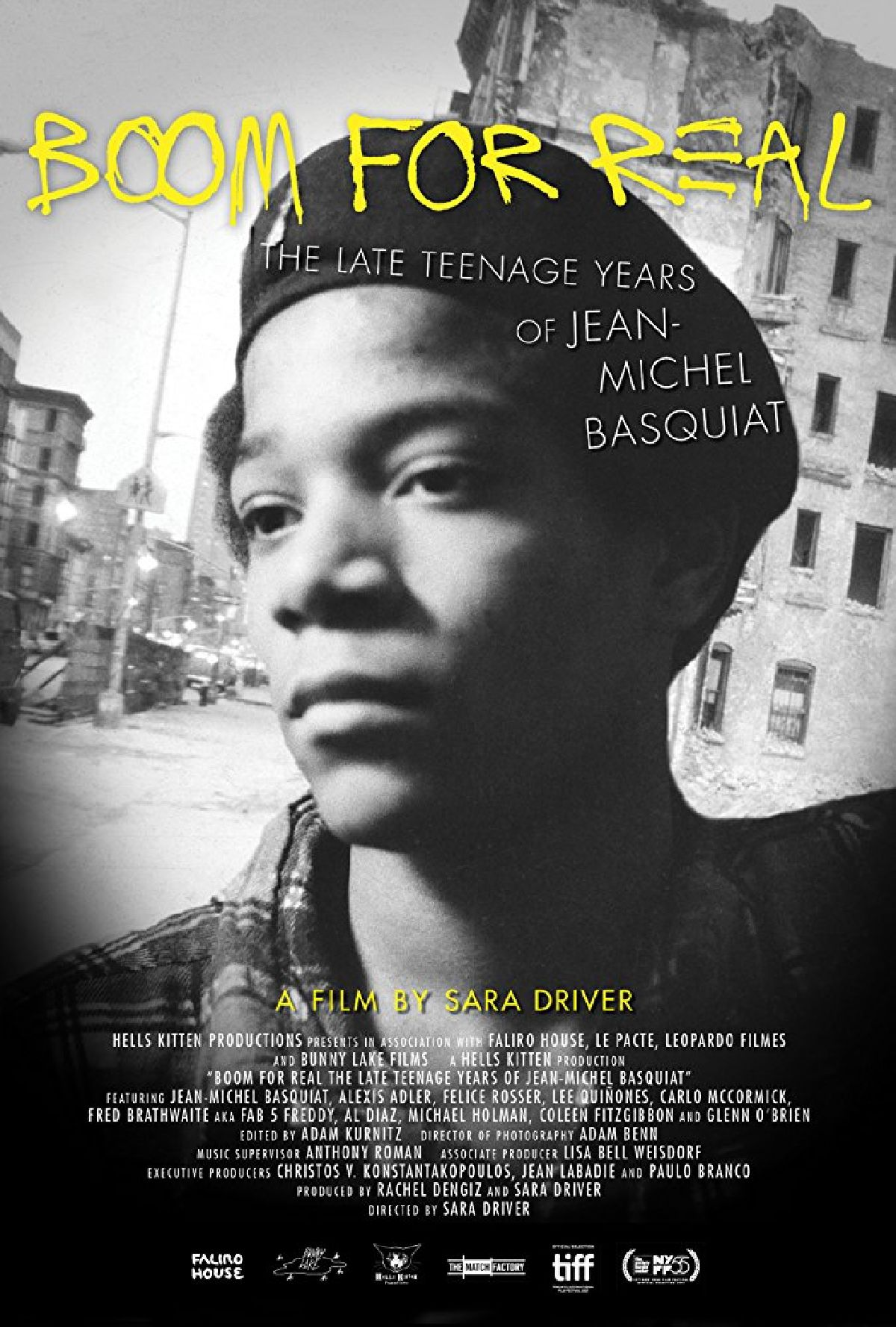 'Boom For Real: The Late Teenage Years Of Jean-Michel Basquiat' movie poster