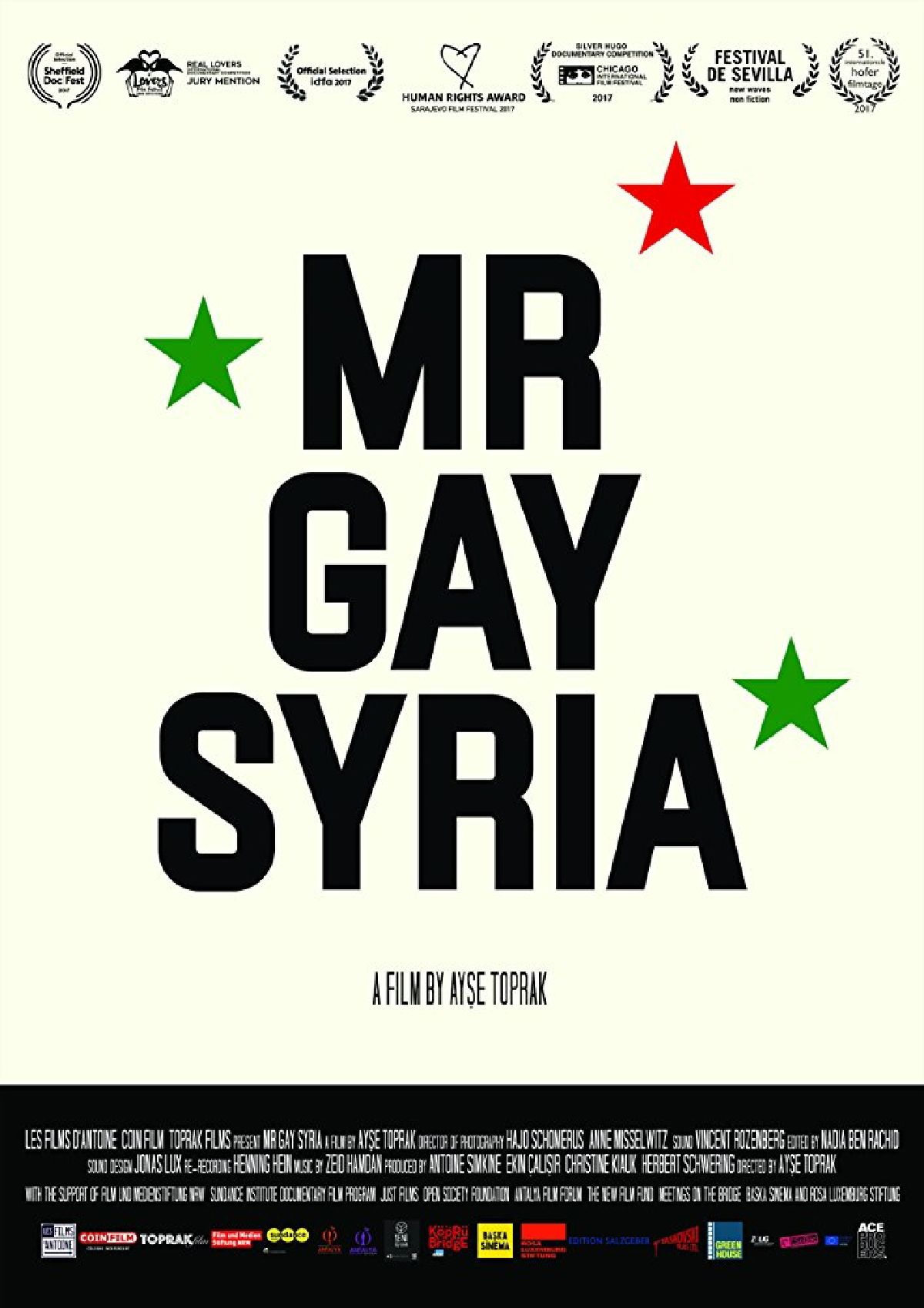 'Mr Gay Syria' movie poster