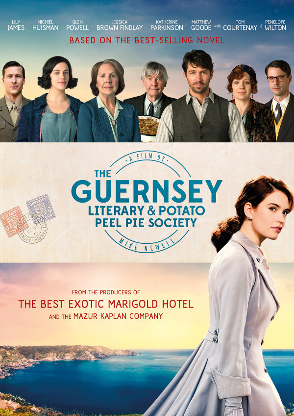 Poster for 'The Guernsey Literary And Potato Peel Pie Society'