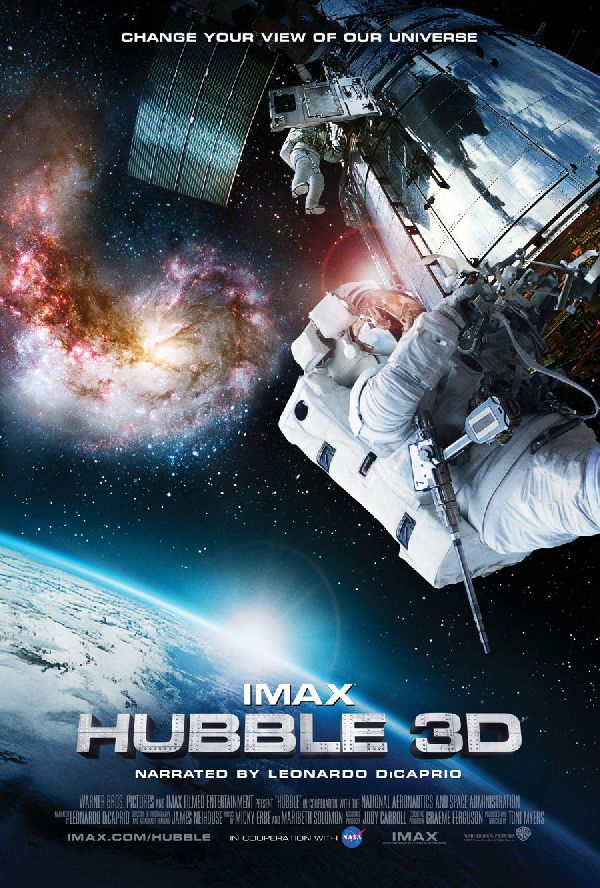 'IMAX: Hubble 3D' movie poster