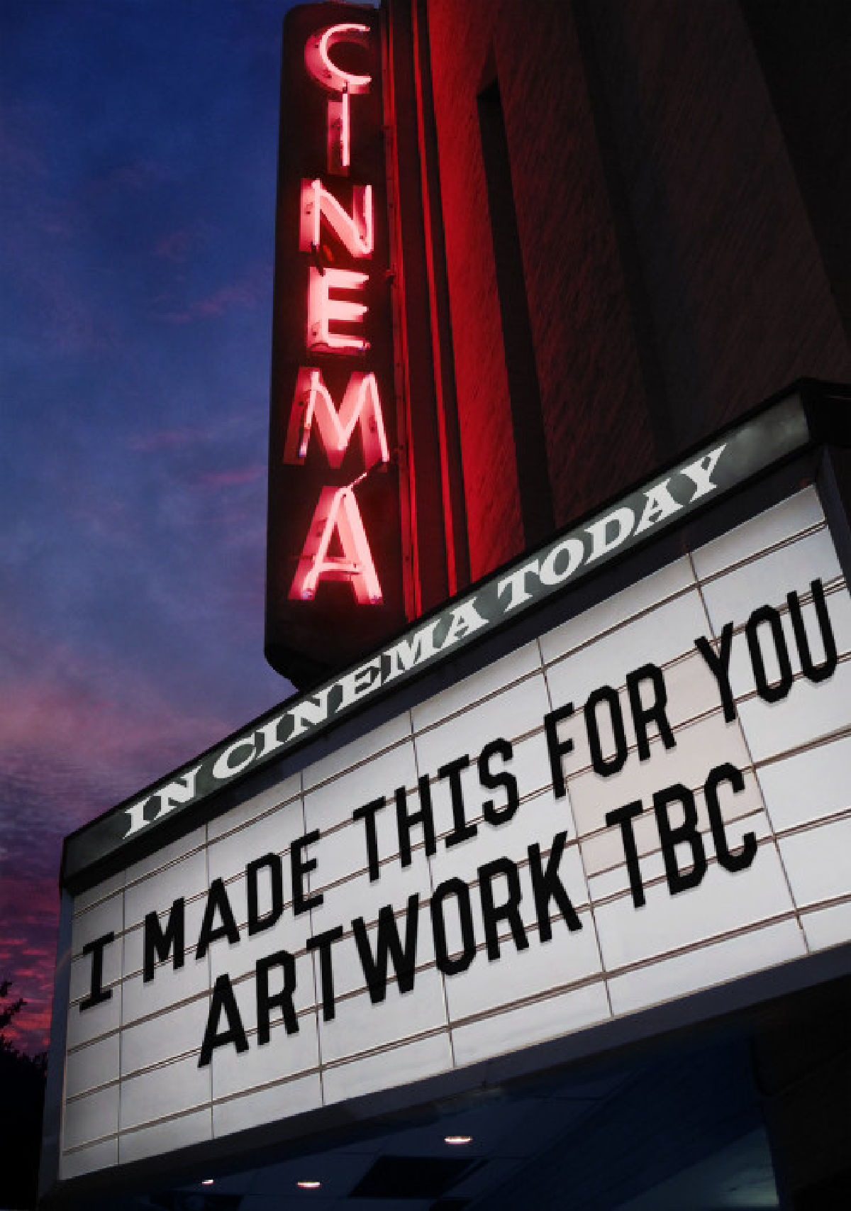 'I Made This For You' movie poster