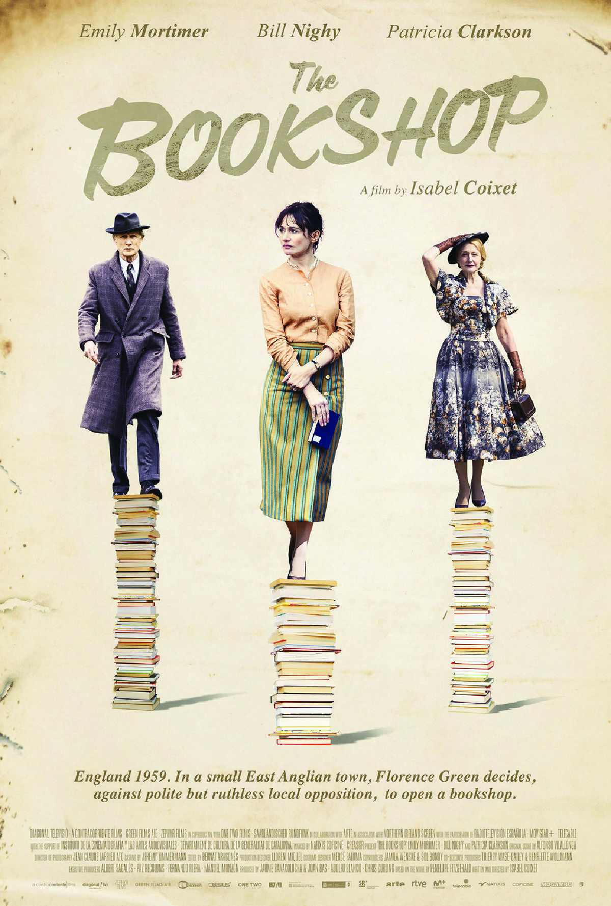 'The Bookshop' movie poster