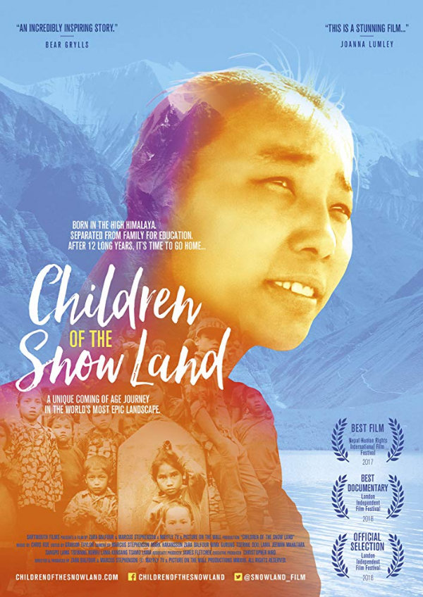 'Children Of The Snow Land' movie poster