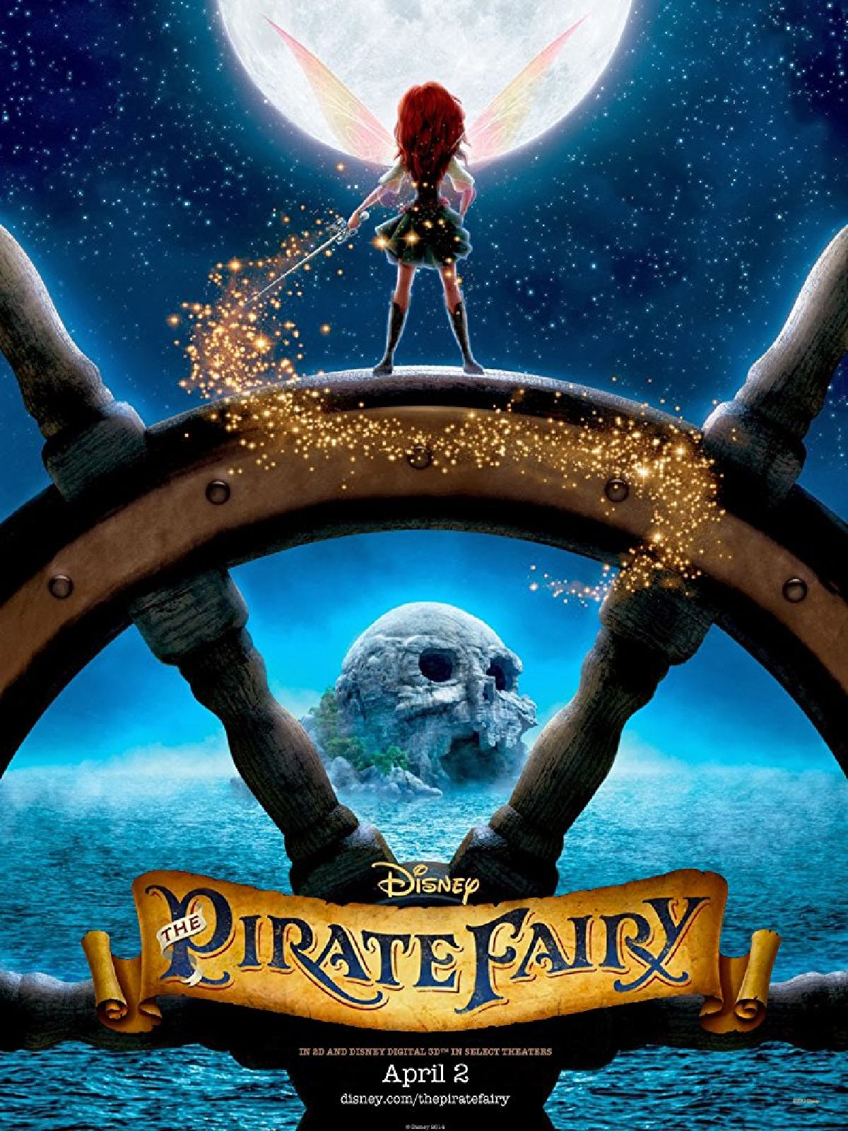 'Tinker Bell And The Pirate Fairy' movie poster