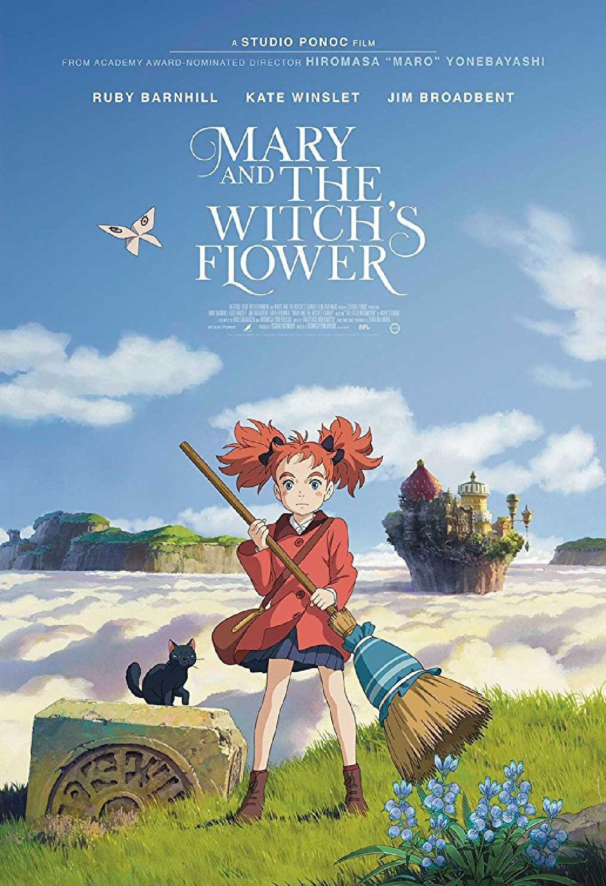 'Mary And The Witch's Flower (Dubbed)' movie poster